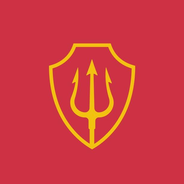 Drietand_rood