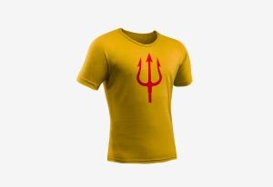 Tshirt_goededoel_Drietand_geel