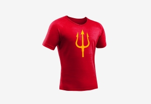 Tshirt_goededoel_Drietand_rood