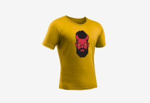 Tshirt_goededoel_Duivel_geel