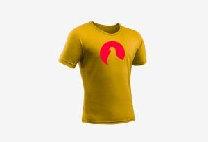 Tshirt_goededoel_Duiven_geel